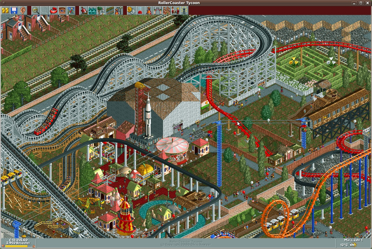 roller coaster tycoon enjoyment from the Revived version of classic amusement park sim is still fun read common sense  media's rollercoaster tycoon review, age rating, and parents guide.