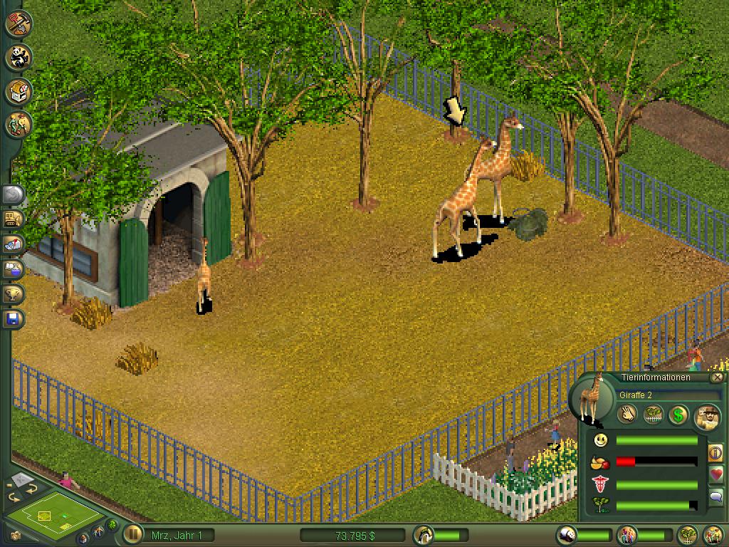 Zoo Tycoon Holarse Spielen Unter Linux