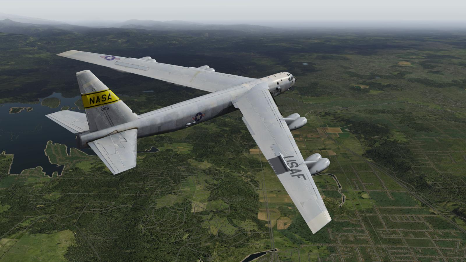 Flugzeugsimulation