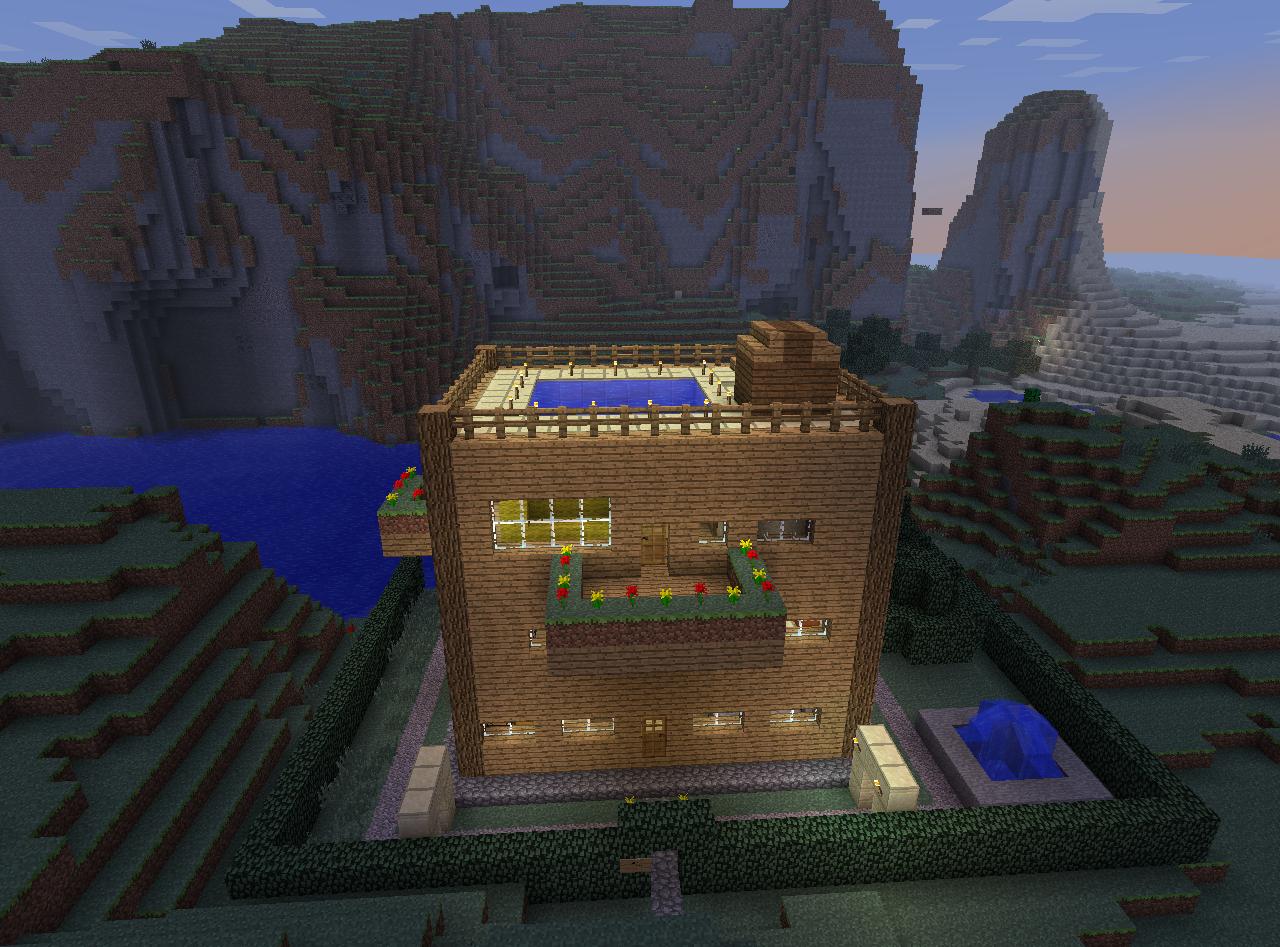 Minecraft Houses Easy To Build Xbox
