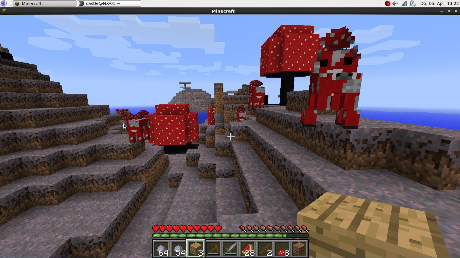 Minecraft HOLARSE Spielen Unter Linux - Minecraft spielen echt