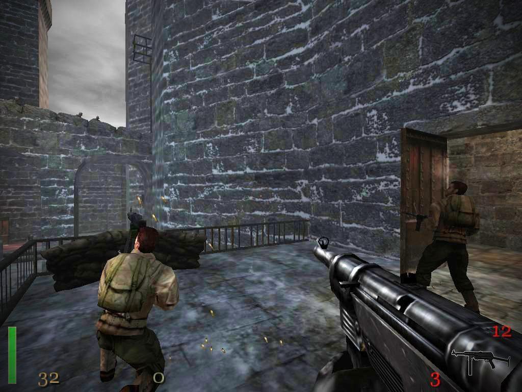 wolfenstein how to open uber soldier lab doors