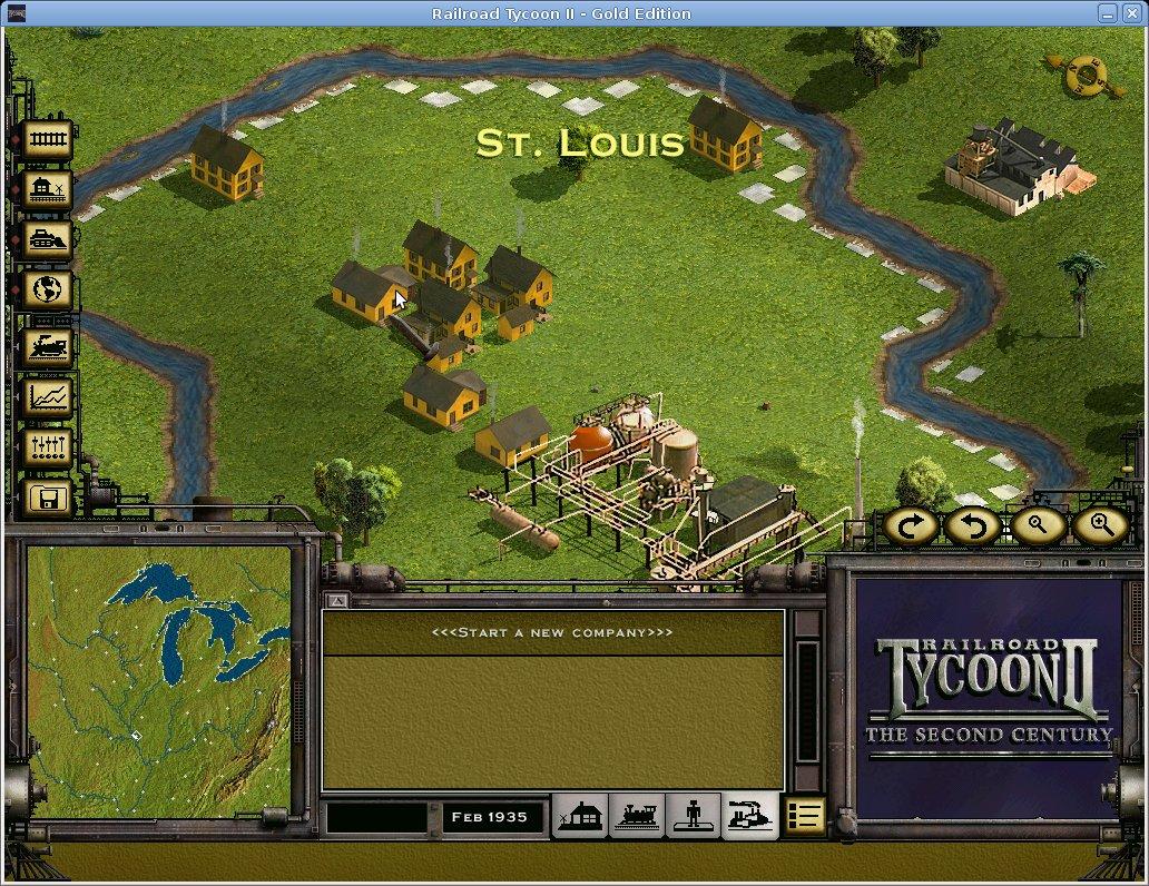Railroad Tycoon II | HOLARSE - Spielen unter Linux
