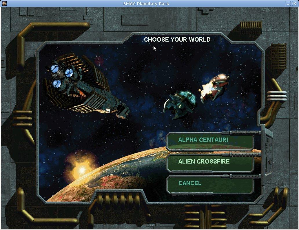 Sid Meier's Alpha Centauri | HOLARSE - Spielen unter Linux